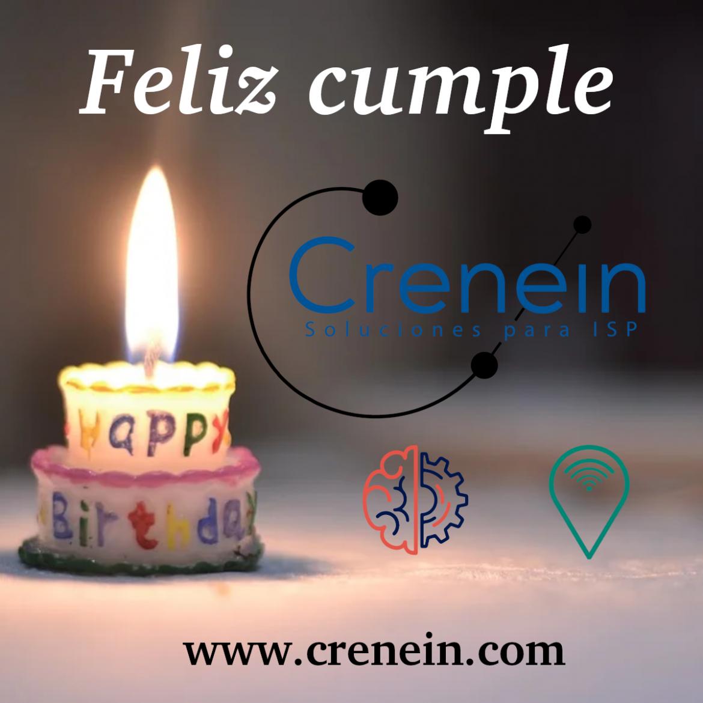 Crenein cumple 6 años
